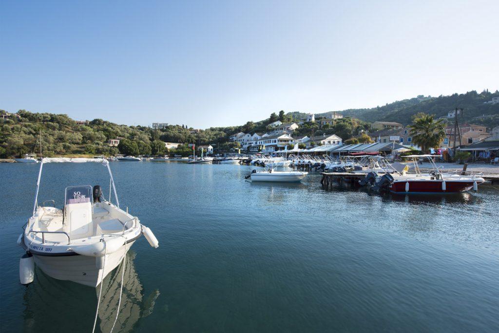 Eucalyptus Taverna Boats View